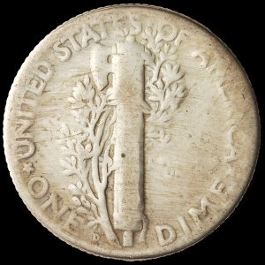 Doctored 1916 Philadelphia Mint Winged Liberty Dime