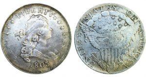 1803 Silver Coins