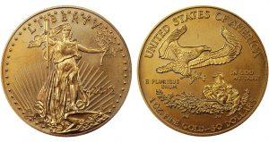 2012 Fake 1 oz Gold American Eagle merged