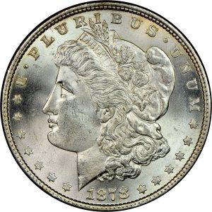 Genuine 1878 Morgan Dollar